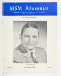 Missouri S&T Magazine, July-August 1959 by Miner Alumni Association