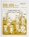 Missouri S&T Magazine, August 1970