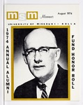 Missouri S&T Magazine, August 1974