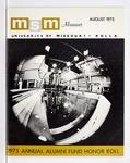 Missouri S&T Magazine, August 1975 by Miner Alumni Association