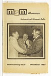 Missouri S&T Magazine, December 1980 by Miner Alumni Association