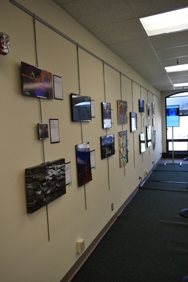 Art in the Library Exhibition Spring 2018, Gallery-1