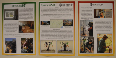S&T-Winthrop Exchange Exhibit Posters