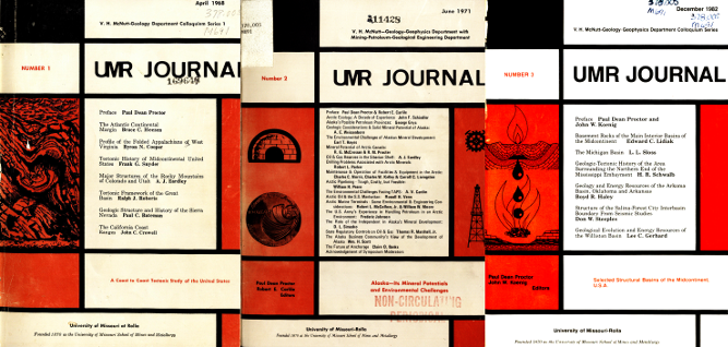 UMR Journal -- V. H. McNutt Colloquium Series