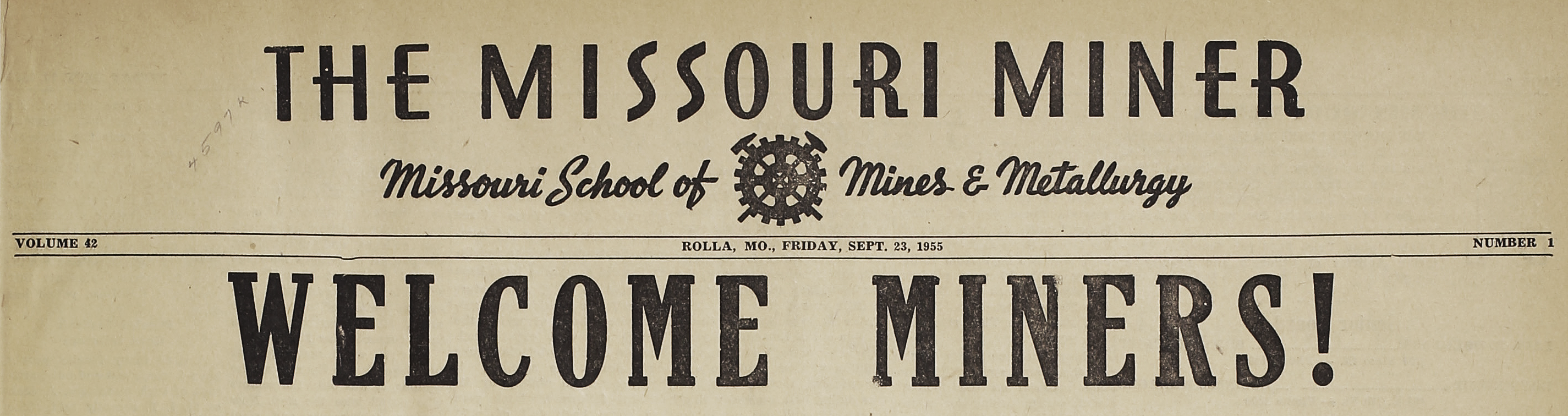 The Missouri Miner Newspaper