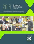 2016 Scholarly Productivity Report by Missouri University of Science and Technology