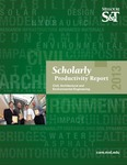 2013 Scholarly Productivity Report by Missouri University of Science and Technology