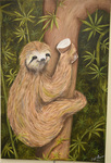 Sloth with Choccy Milk by Madison E. Bowen