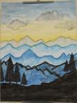 Mountain Sunset by Kim Runge