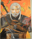 The Fall of Geralt by Ashley Painter