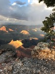 Sunset from South Rim by Stephanie Soendker