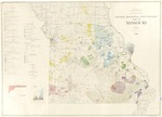 Mineral Resources and Industry Map of Missouri by Eva B. Disvarsanyi and Walter V. Searight