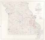 Magnetic Map of Missouri: Showing Anomalies of Vertical Intensity