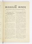 The Missouri Miner, March 19, 1915