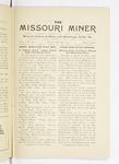 The Missouri Miner, April 30, 1915