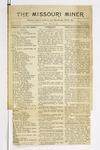 The Missouri Miner, May 28, 1915