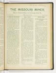 The Missouri Miner, March 17, 1916