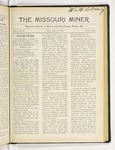 The Missouri Miner, March 31, 1916