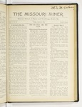 The Missouri Miner, April 21, 1916