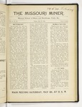 The Missouri Miner, May 19, 1916
