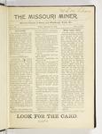 The Missouri Miner, September 29, 1916
