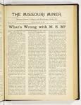 The Missouri Miner, January 19, 1917