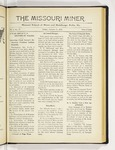 The Missouri Miner, January 11, 1918