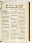 The Missouri Miner, January 18, 1918