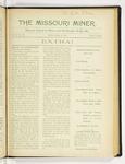 The Missouri Miner, March 16, 1917