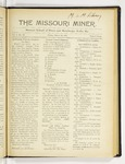 The Missouri Miner, March 30, 1917