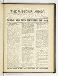 The Missouri Miner, August 24, 1917