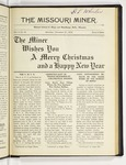 The Missouri Miner, December 21, 1918