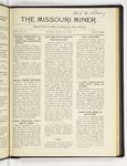 The Missouri Miner, January 11, 1919