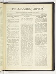 The Missouri Miner, March 22, 1919