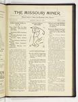 The Missouri Miner, April 12, 1919