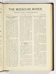 The Missouri Miner, October 10, 1919