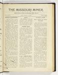The Missouri Miner, October 17, 1919