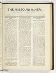The Missouri Miner, November 21, 1919