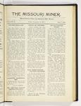 The Missouri Miner, December 12, 1919