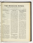 The Missouri Miner, January 16, 1920