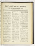 The Missouri Miner, January 23, 1920