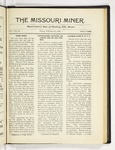 The Missouri Miner, February 27, 1920