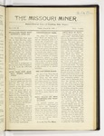 The Missouri Miner, March 26, 1920