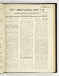 The Missouri Miner, January 14, 1921