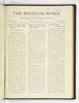 The Missouri Miner, March 25, 1921