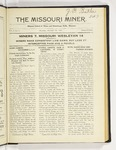 The Missouri Miner, October 24, 1921
