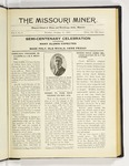 The Missouri Miner, October 31, 1921