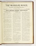 The Missouri Miner, August 25, 1922