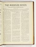 The Missouri Miner, September 25, 1922