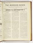 The Missouri Miner, October 16, 1922